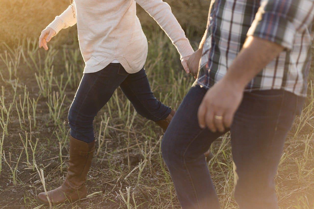 i benefici di camminare